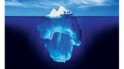 An Iceberg, like the levels of the mind